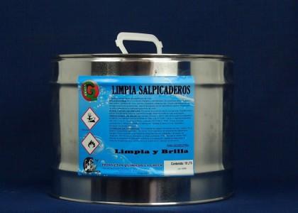 LIMPIA SALPICADEROS (con y sin silicona)